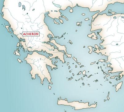Karte Griechenland.Karten Griechische Mythologie Mythologische Karte Von Griechenland