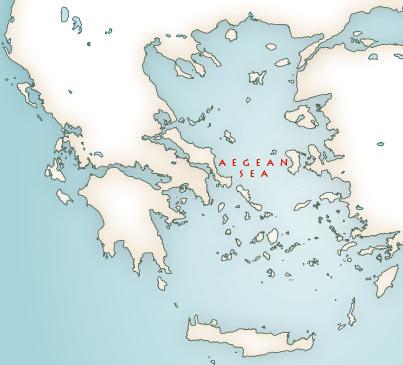 Greek mythology maps mythological map of greece mythological map of greece gumiabroncs Gallery