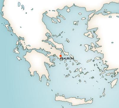 Greek Mythology Maps Mythological Map Of Greece