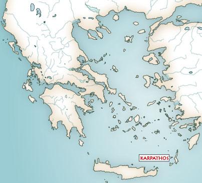 karte karpathos griechenland Karten Griechische Mythologie   Mythologische Karte von Griechenland