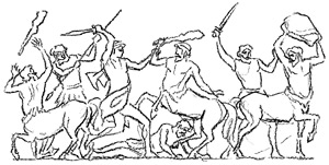 Lapiths and Centaurs
